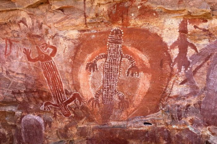 Old Indigenous rock art of the Kimberley rediscovered