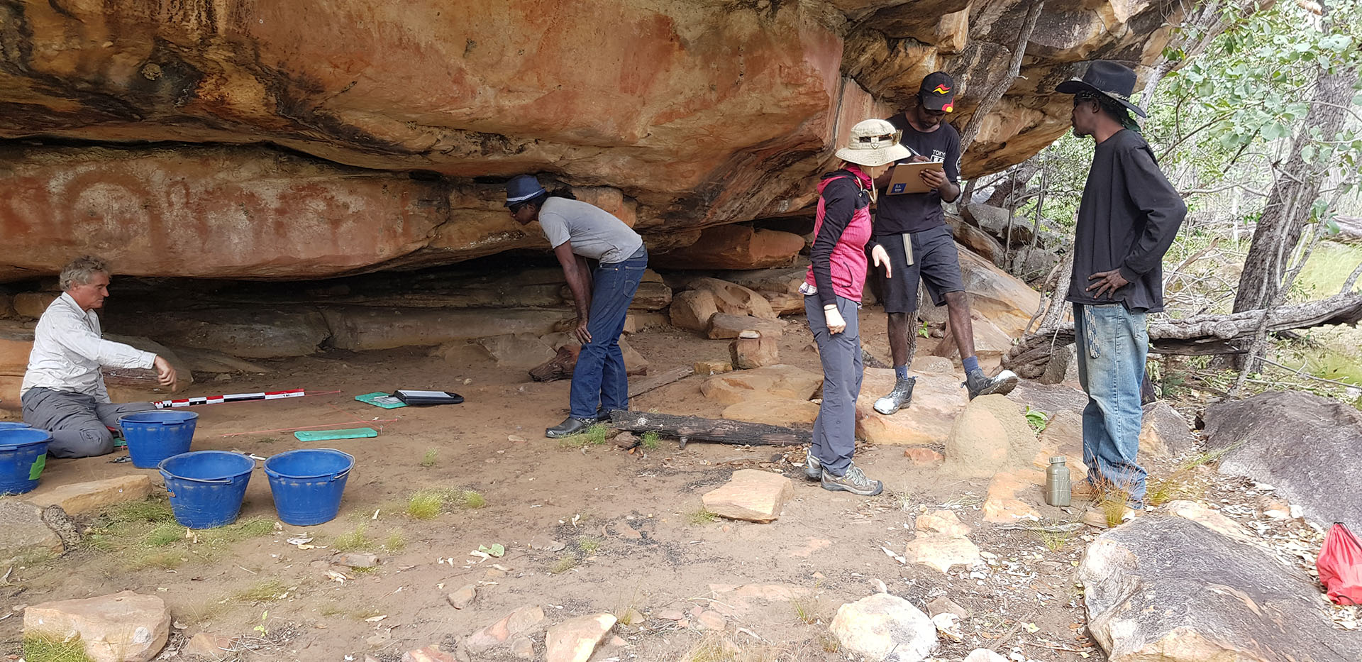Aboriginal artwork in the Kimberley could be among oldest in the world, scientists say. ABC 7.30 Report Nov 2015
